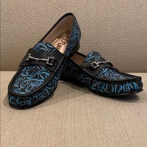 Sam Edelman Talia Black Multi Graffiti Loafer